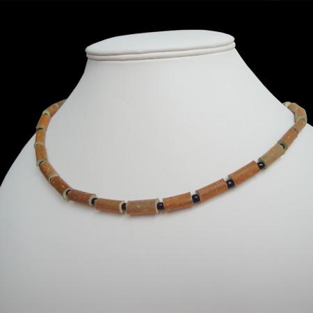 Collier Perles noires (simple)