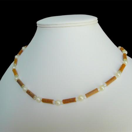 Collier Style perles de culture