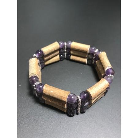 Bracelet Triple Améthyste